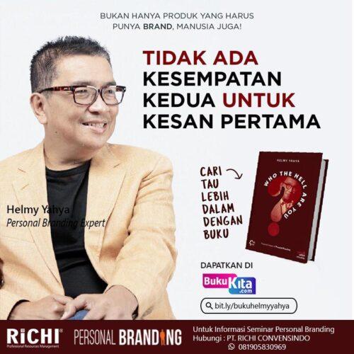 Personal Branding Helmy Yahya