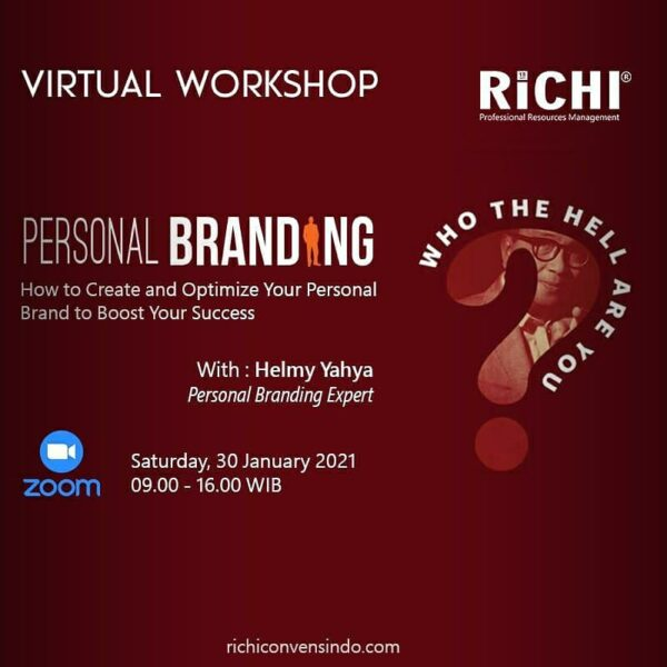 *VIRTUAL WORKSHOP PERSONAL BRANDING*
